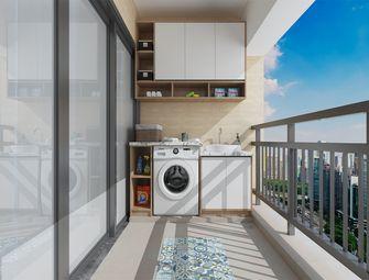 110平米三室两厅北欧风格阳台装修图片大全