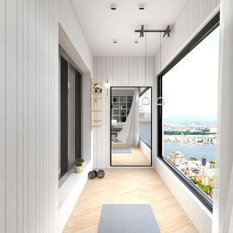 140平米复式混搭风格阳台效果图
