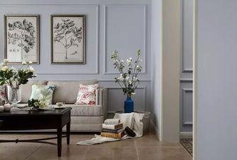 120平米三室五厅美式风格客厅欣赏图
