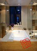 经济型130平米三室两厅英伦风格卫生间设计图