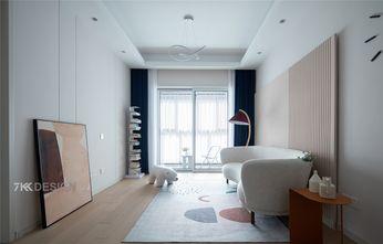 80平米三室一厅宜家风格客厅效果图