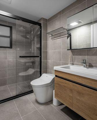 90平米三室一厅日式风格卫生间装修案例