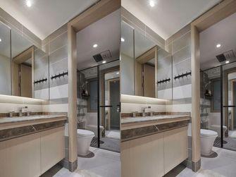 140平米三室两厅北欧风格卫生间设计图