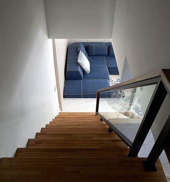 5-10万100平米三室一厅现代简约风格楼梯图