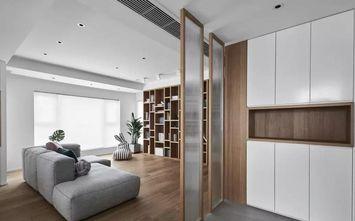 110平米三室两厅日式风格客厅设计图