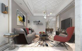 90平米三現代簡約風格客廳圖片大全