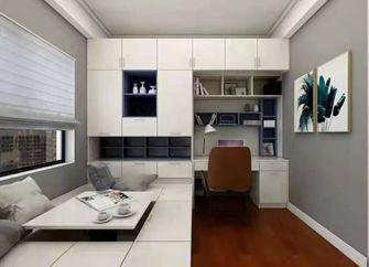 100平米三室一厅北欧风格影音室设计图