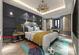 豪华型140平米别墅美式风格儿童房图片