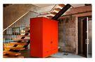 10-15万110平米公寓混搭风格楼梯装修图片大全