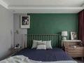 130平米田园风格卧室欣赏图