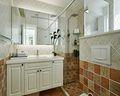 富裕型140平米四室三厅田园风格厨房设计图