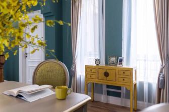 140平米复式地中海风格书房装修案例