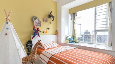 5-10万90平米三室两厅田园风格儿童房装修效果图