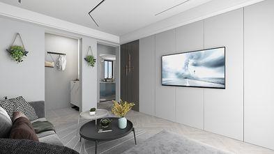 90平米一室一厅现代简约风格客厅装修效果图
