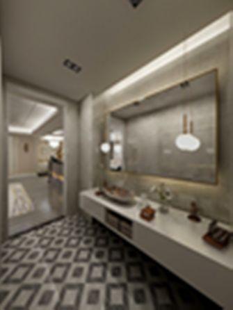 110平米三室一厅现代简约风格卫生间欣赏图
