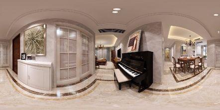 130平米三欧式风格影音室图