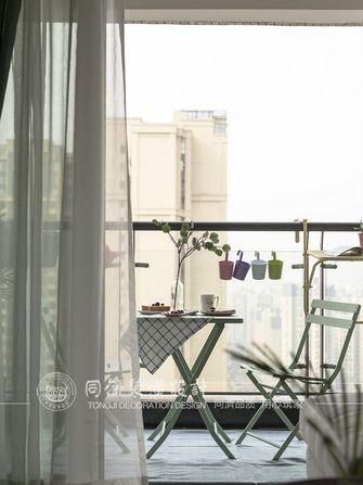 60平米北欧风格阳台装修图片大全