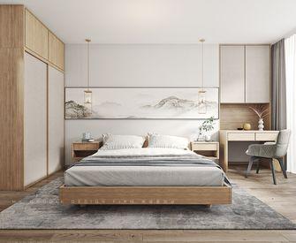 富裕型70平米公寓中式风格卧室装修图片大全