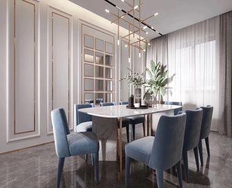100平米三室一厅欧式风格餐厅图片大全
