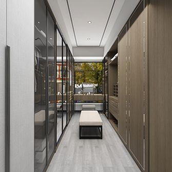 140平米别墅中式风格衣帽间装修案例