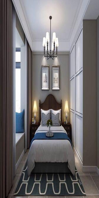 140平米复式美式风格儿童房欣赏图