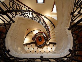 20万以上100平米欧式风格楼梯设计图