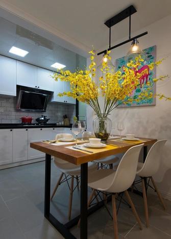 60平米一室一厅田园风格餐厅装修图片大全