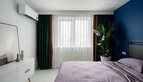 90平米三室一廳現代簡約風格臥室裝修效果圖