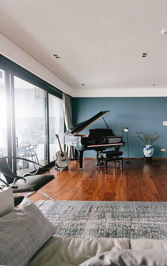 140平米三室四厅现代简约风格影音室欣赏图