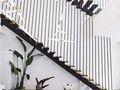 富裕型140平米复式现代简约风格楼梯装修效果图