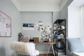 100平米三室两厅北欧风格书房图