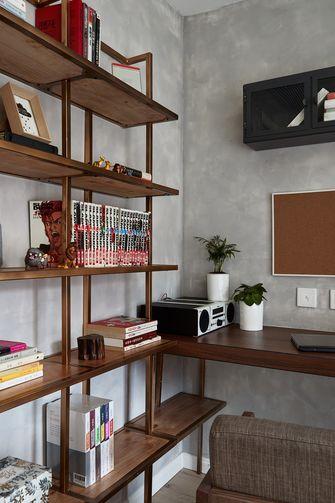 90平米三室一厅英伦风格书房欣赏图