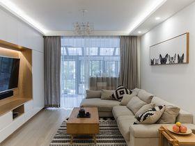 10-15萬110平米三室三廳現代簡約風格客廳裝修效果圖