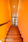 90平米复式混搭风格楼梯装修图片大全