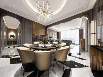 140平米三室一厅法式风格餐厅装修案例