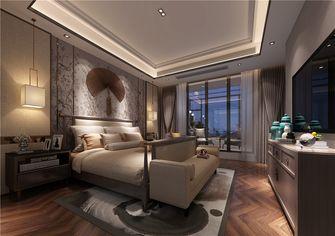 140平米三室两厅中式风格卧室设计图