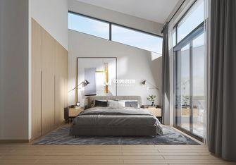 140平米别墅北欧风格卧室效果图