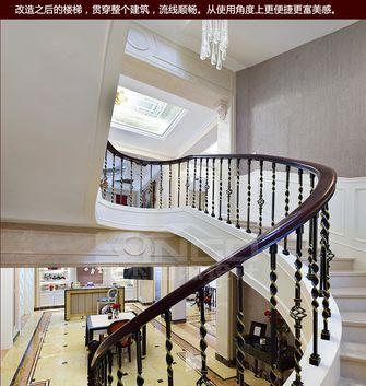 140平米别墅欧式风格楼梯装修图片大全