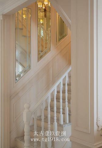 20万以上140平米四室两厅法式风格楼梯欣赏图