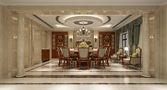 20万以上140平米别墅欧式风格餐厅橱柜装修案例