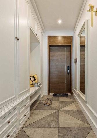 110平米三室两厅东南亚风格玄关图片