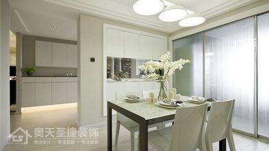 5-10万110平米三室一厅现代简约风格餐厅装修案例