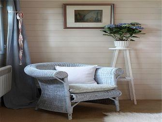 经济型100平米三室一厅田园风格阳光房装修效果图