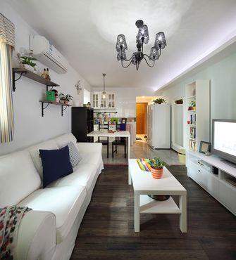 5-10万30平米以下超小户型田园风格客厅设计图