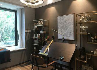 富裕型110平米三室两厅欧式风格楼梯装修案例