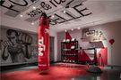 120平米四现代简约风格健身室图片大全
