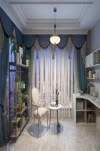 110平米四室两厅欧式风格书房效果图