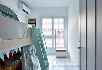 110平米三日式风格儿童房装修图片大全
