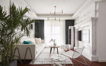 80平米三美式风格客厅欣赏图