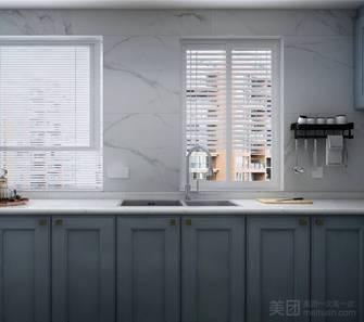 80平米三室两厅中式风格厨房欣赏图
